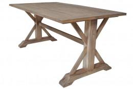Dining Table Cross with Sandblast